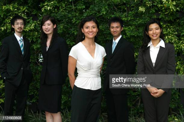 Mark Wong Jenny Lau Chunni Susan Sy Perry Pang Kamfai and Liliana Lau Waisze share their experience in Business Orientation Programme organised by...