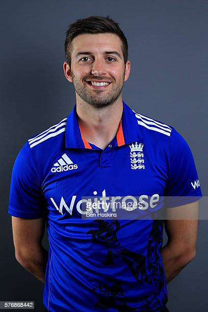 Mark Wood of England poses for a picture during England Lions Media Access on July 18 2016 in Cheltenham England