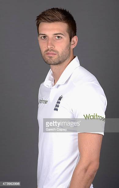 Mark Wood of England poses for a portrait at Lord's Cricket Ground on May 19 2015 in London England