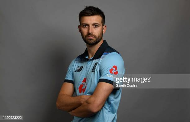 Mark Wood of England poses for a portrait on May 13 2019 in Bristol England