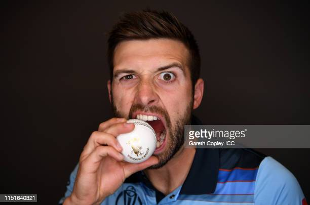Mark Wood of England poses for a portrait prior to the ICC Cricket World Cup 2019 at Ageas Bowl on May 24 2019 in Southampton England