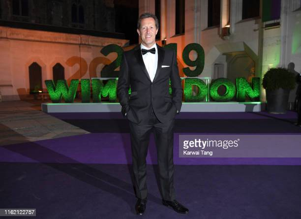 Mark Woodforde attends the Wimbledon Champions Dinner at The Guildhall on July 14 2019 in London England