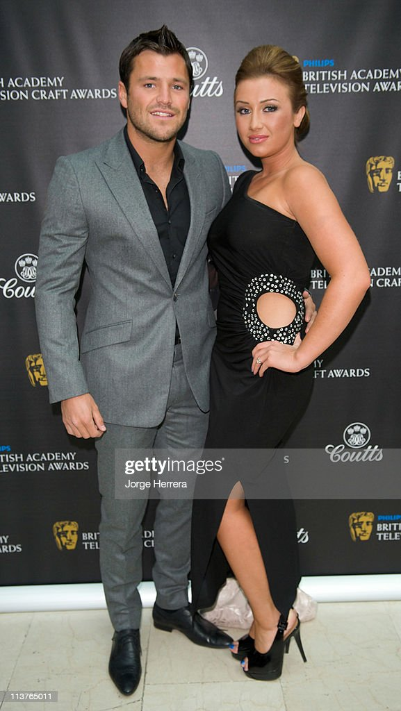 Mark Wright and Lauren Goodger attend the The Philips British Academy Television Awards Nominees Party at Coutts Bank on May 5, 2011 in London, England.