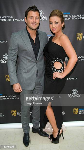 Mark Wright and Lauren Goodger attend the The Philips British Academy Television Awards Nominees Party at Coutts Bank on May 5 2011 in London England