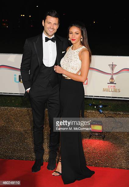 Mark Wright and Michelle Keegan attend A Night Of Heroes The Sun Military Awards at National Maritime Museum on December 10 2014 in London England