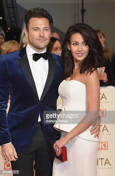 Mark Wright and Michelle Keegan attend the National Television Awards on January 25 2017 in London United Kingdom
