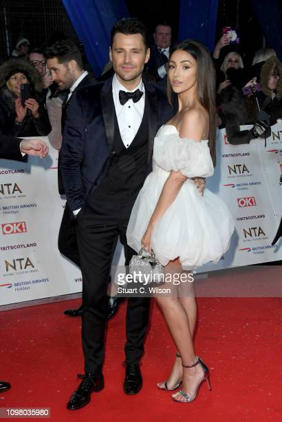 Mark Wright and Michelle Keegan attends the National Television Awards held at the O2 Arena on January 22 2019 in London England