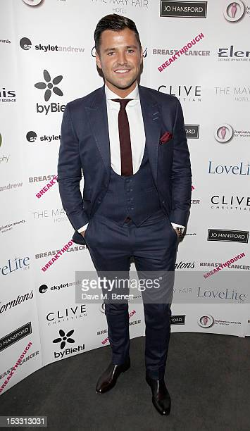 Mark Wright arrives at The Inspiration Awards For Women 2012 at Cadogan Hall on October 3 2012 in London England