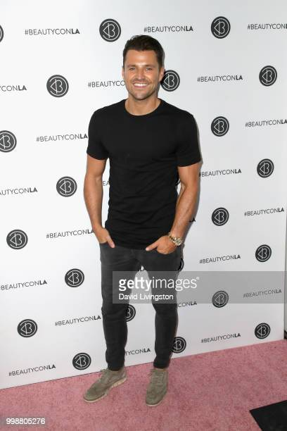 Mark Wright attends the Beautycon Festival LA 2018 at the Los Angeles Convention Center on July 14 2018 in Los Angeles California