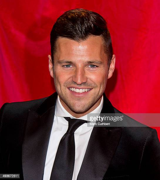 Mark Wright attends the British Soap Awards at Hackney Empire on May 24 2014 in London England