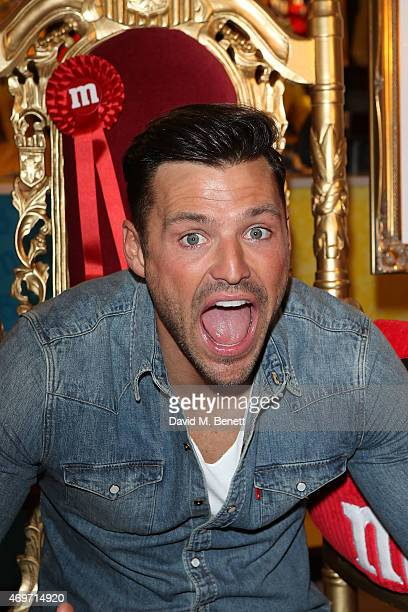 Mark Wright attends the MM's Characters Election launch party at MM's World on April 14 2015 in London England