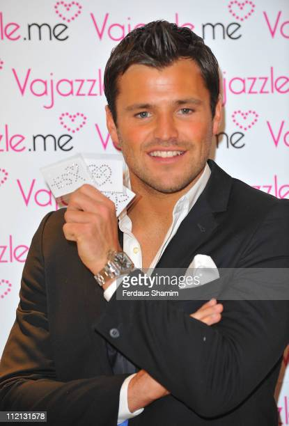 Mark Wright from 'The Only Way Is Essex' launches TOWIE Vajazzle Body Art Crystals at signor sassi on April 13 2011 in London England