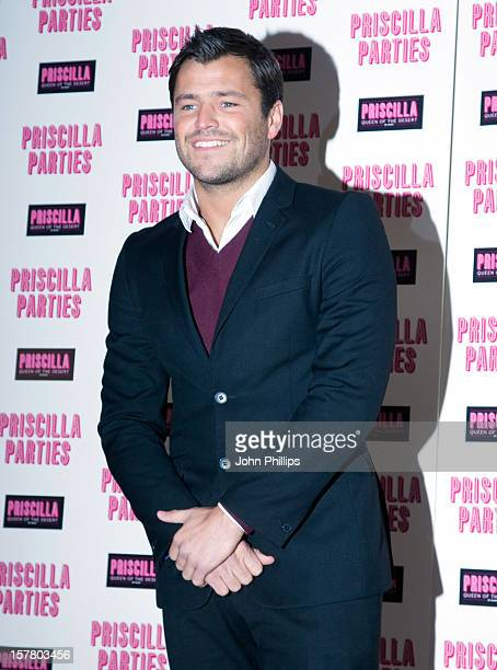 Mark Wright Of The Only Way Is Essex Attends The Priscilla Parties Launch At The Palace Theatre In London.