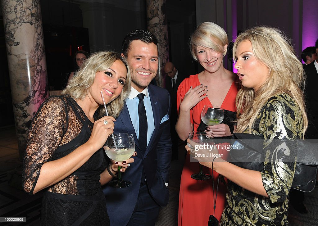 Mark Wright poses at the Cosmopolitan Ultimate Woman of the Year Awards after party at Victoria & Albert Museum on October 30, 2012 in London, England.