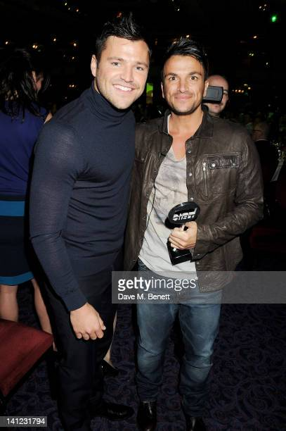 Mark Wright Satellite/Digital TV Personality award winner Peter Andre attend the TRIC Television and Radio Industries Club Awards at The Grosvenor...