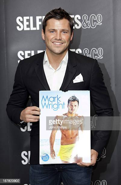 Mark Wright Signs Copies Of His 2012 Calendar, Selfridges Department Store, Oxford St, London.