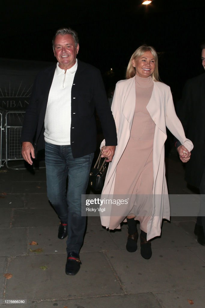 Mark Wright Sr And Carol Wright Seen Leaving Proud Enbankment After News Photo Getty Images