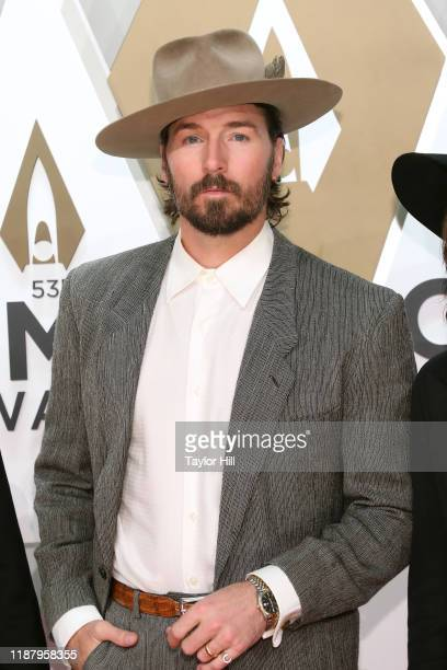 Mark Wystrach attends the 53nd annual CMA Awards at Bridgestone Arena on November 13 2019 in Nashville Tennessee