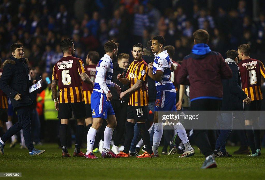 Reading v Bradford City - FA Cup Quarter Final Replay