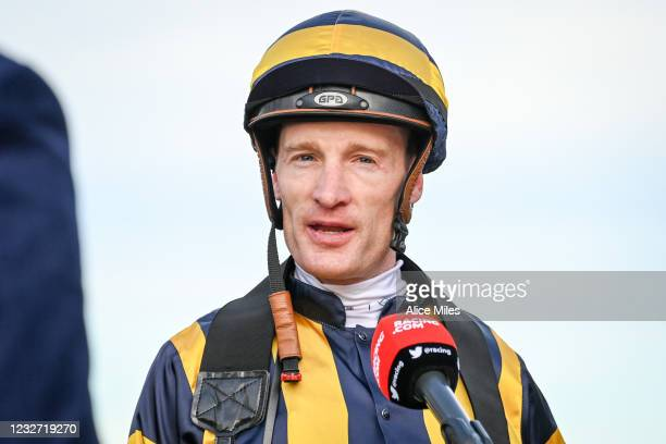 Mark Zahra after winning the No Fuss Event Hire BM64 Handicap at Warrnambool Racecourse on May 06, 2021 in Warrnambool, Australia.