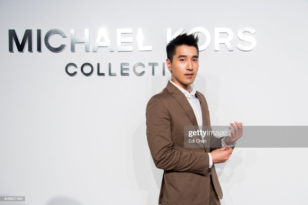 Mark Zhao attends the Michael Kors runway show during New York Fashion Week at Spring Studios on September 13, 2017 in New York City.