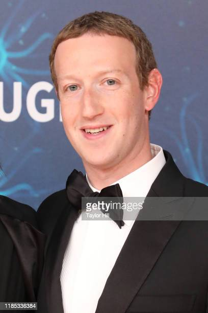 Mark Zuckerberg attends the 2020 Breakthrough Prize Ceremony at NASA Ames Research Center on November 03, 2019 in Mountain View, California.