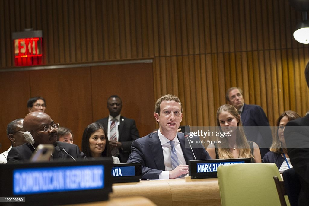 United Nations Sustainable Development Goals Summit : News Photo