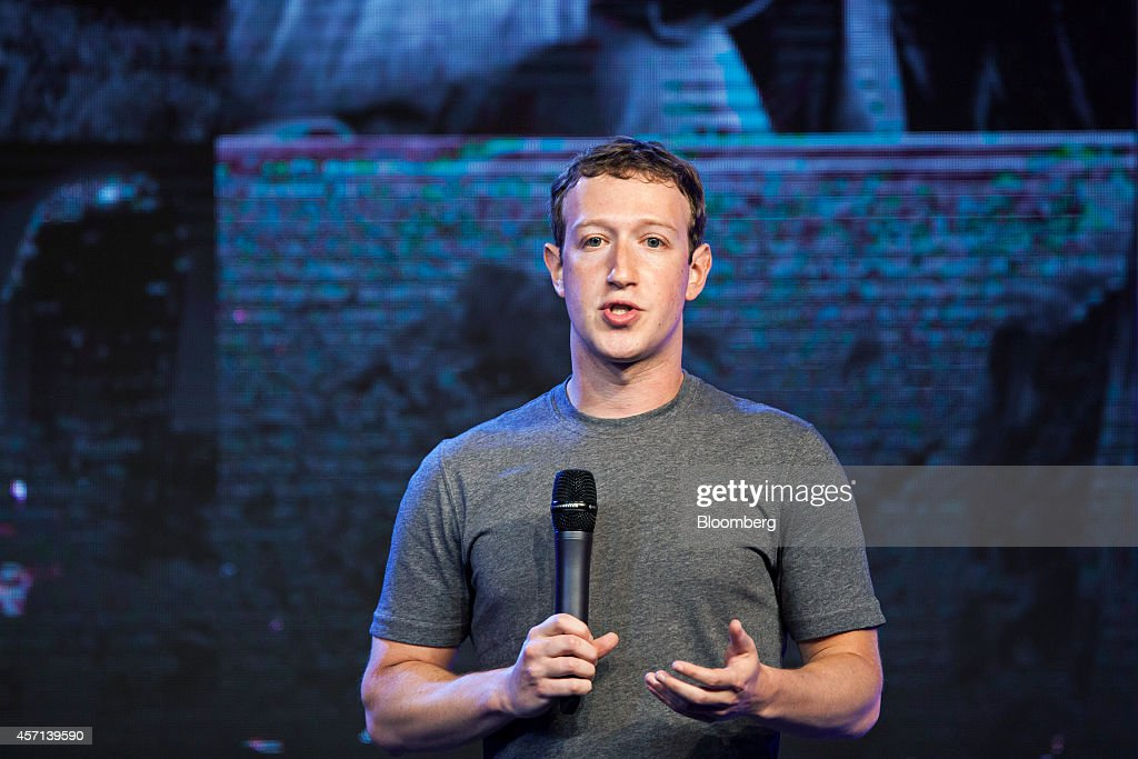 Facebook Chief Executive Officer Mark Zuckerberg Hosts Internet.org Summit : News Photo