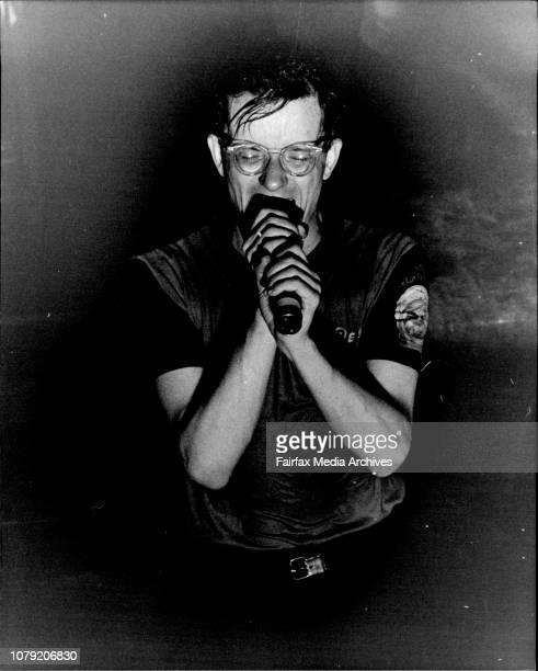 MarkDevo in concert at the Horden Pavillion tonightNames refer Sarah Doherty February 04 1982