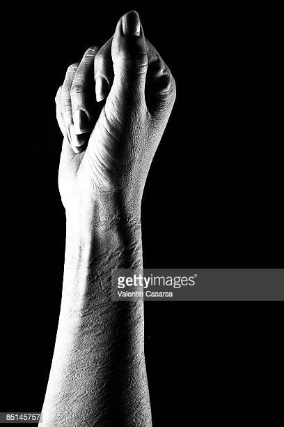 marked hands - human arm stock pictures, royalty-free photos & images
