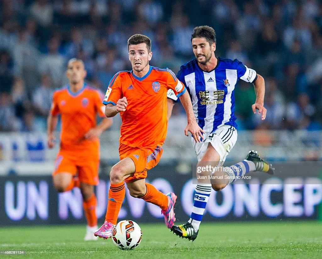 Real Sociedad de Futbol v Valencia CF - La Liga : News Photo