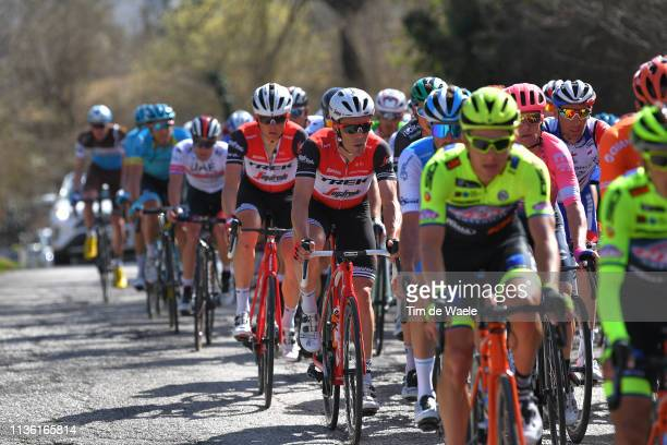 Markel Irizar of Spain and Team Trek - Segafredo / during the 54th Tirreno-Adriatico 2019, Stage 4 a 221km stage from Foligno to Fossombrone /...