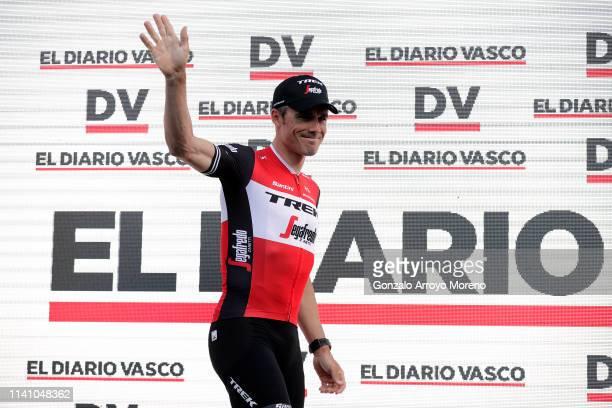 Markel Irizar of Spain and Team Trek - Segafredo / Euskadi Square / Zumarraga City / during the 59th Itzulia-Vuelta Ciclista País Vasco 2019, Team...