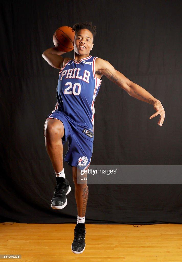 2017 NBA Rookie Photo Shoot