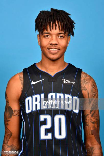 Markelle Fultz of the Orlando Magic poses for a head shot during media day on September 30 2019 at the Amway Center in Orlando Florida NOTE TO USER...