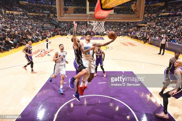 Markelle Fultz of the Orlando Magic shoots the ball against the Los Angeles Lakers on January 15 2020 at STAPLES Center in Los Angeles California...