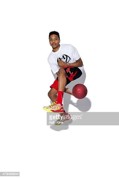 Markelle Fultz poses for a portrait during the NBPA Top 100 Camp on June 18 2015 at John Paul Jones Arena in Charlottesville Virginia