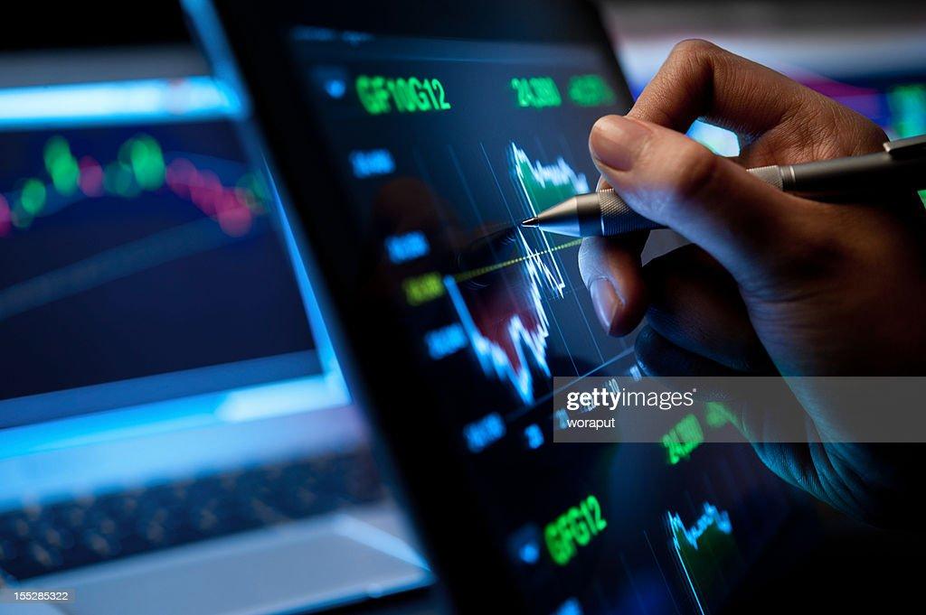 Market Analyze : Stock Photo