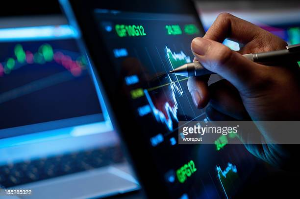 market analyze - analysing stock pictures, royalty-free photos & images