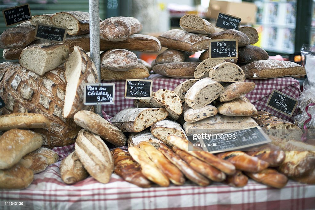 Market bread : Stock-Foto