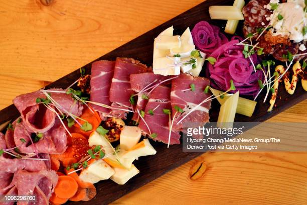 Market Cheese Charcuterie Board of The Preservery January 18 2019