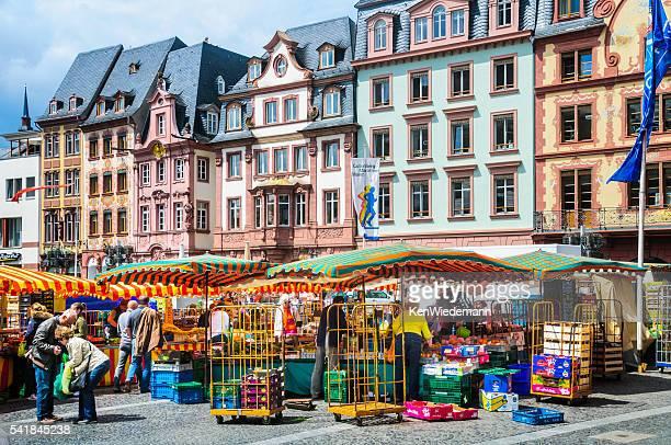 Markt Tag in Mainz