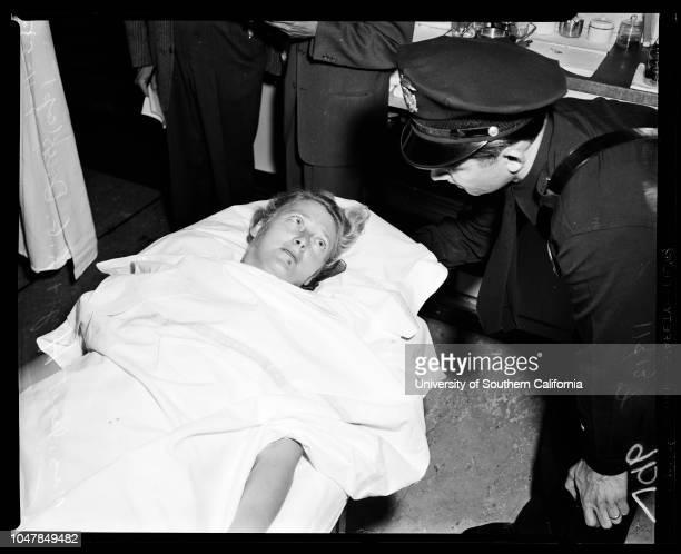 Market holdup and shooting 11 July 1955 William Mockett Mrs Jeannette Hay Roxy Rockwood H Keeney WA Reiff Joseph Wiltz Milford Laman LG Ramsey...