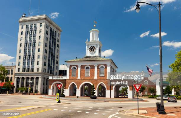 market house in fayetteville, north carolina. - fayetteville north carolina stock pictures, royalty-free photos & images