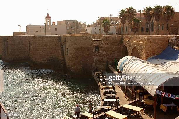 market in akko, israel - laura cover stock pictures, royalty-free photos & images