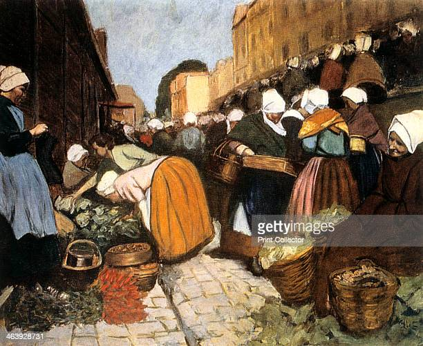'Market in Brest' 1899 State Museum of New Western Art Moscow