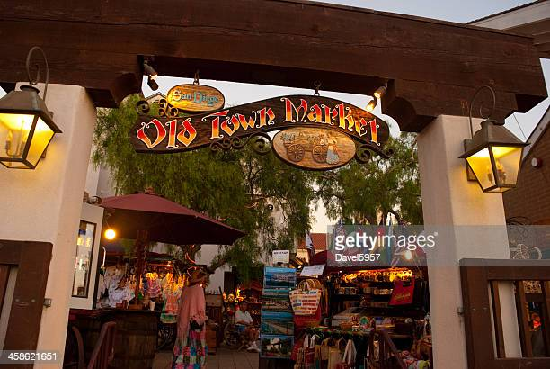 Market in Old Town San Diego