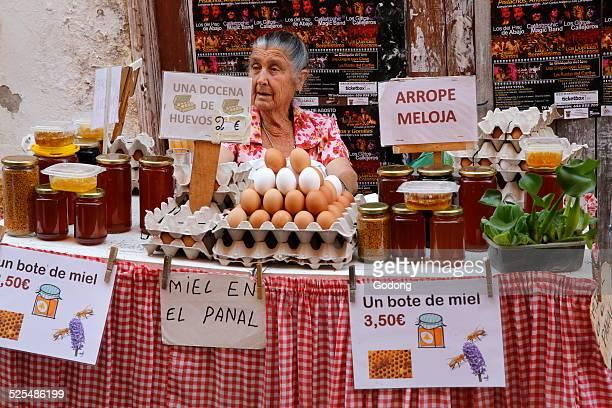 Market in Sanlucar de Barrameda Andalusia