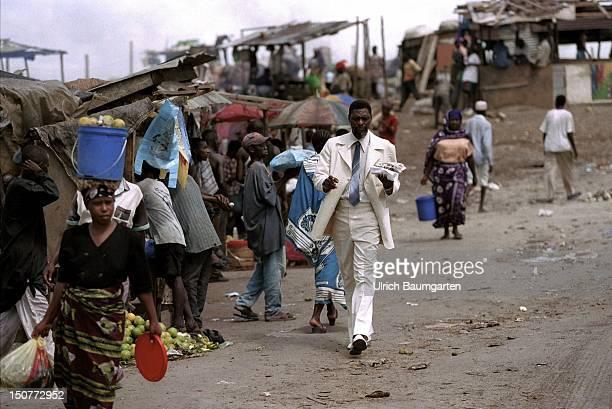 Market in the Tanzanian capital Daressalaam