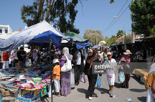 market in tunisia - tunisia stock pictures, royalty-free photos & images